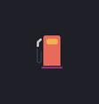 petrol station computer symbol vector image vector image