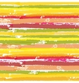 Seamless pattern with color brush stripes vector image vector image