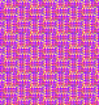 The pattern of the colored pixels vector image vector image