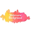 Watercolor Boho Background vector image