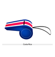A Whistle of The Republic of Costa Rica vector image