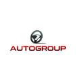 auto drive logo vector image vector image
