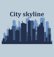 city skylinecity skyscrapers building office vector image vector image