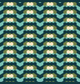 geometric seamless pattern in retro colors vector image vector image