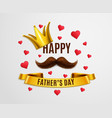 happy dad day background vector image vector image