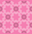seamless abstract art pink pattern vector image vector image