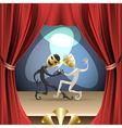 The theatre vector image