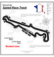tire track cup circuit wallpaper vector image vector image