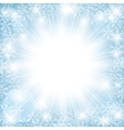 winter sun vector image vector image