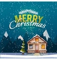 Christmas and New Year greeting card Sweet family vector image vector image