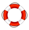 Lifebuoy Sign Symbol EPS10 vector image vector image