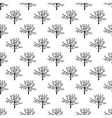 Tree pattern seamless vector image