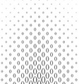 Black and white vertical curved shape pattern vector image vector image
