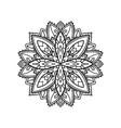 boho style mandala vector image