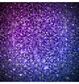 Disco abstract neon background vector image vector image