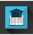 distance education design vector image vector image