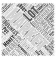 Giving Back to the Community Word Cloud Concept vector image vector image