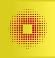 halftone circles background halftone dot pattern vector image