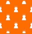 little dress pattern seamless vector image vector image