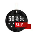 offer commercial label icon vector image