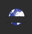planet in pocket vector image vector image