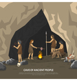Prehistoric Cave vector image vector image
