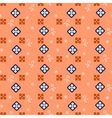 Seamless simple retro geometrical pattern of vector image