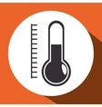 thermometer measure isolated icon vector image