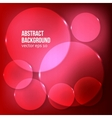abstract background Circle red vector image