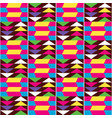 african kente seamless textile pattern vector image