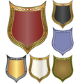 backgrounds - shield vector image vector image