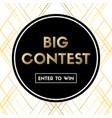 Big contest banner for social media