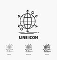 business international net network web icon in vector image vector image