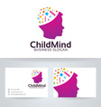 Child Mind vector image vector image