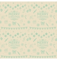 christmas subtle doodles seamless vector image vector image