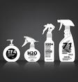 Cosmetics Bottle Packaging vector image vector image