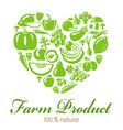 FarmProduct vector image vector image