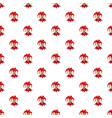 jester in red hat pattern vector image