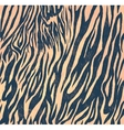 Seamless vintage style pattern with zebra print vector image vector image