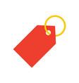 tag stylish icon vector image vector image