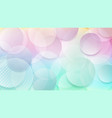 abstract background of circles vector image vector image