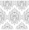 buddhism symbols seamless pattern vector image vector image