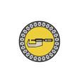 caliper ball bearing circle retro