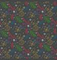 Christmas doodle color pattern