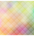 Colorful geometric background with rhombus blurres vector image vector image