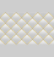 gold and white leather texture vector image vector image
