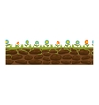 Ground slices vector image vector image