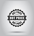 hot price grunge rubber stamp on white background vector image vector image