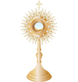 monstrance vector image vector image