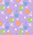 pattern retro vintage 80s or 90s vector image vector image